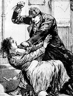 Jack the Ripper image from: Police Gazette 1888
